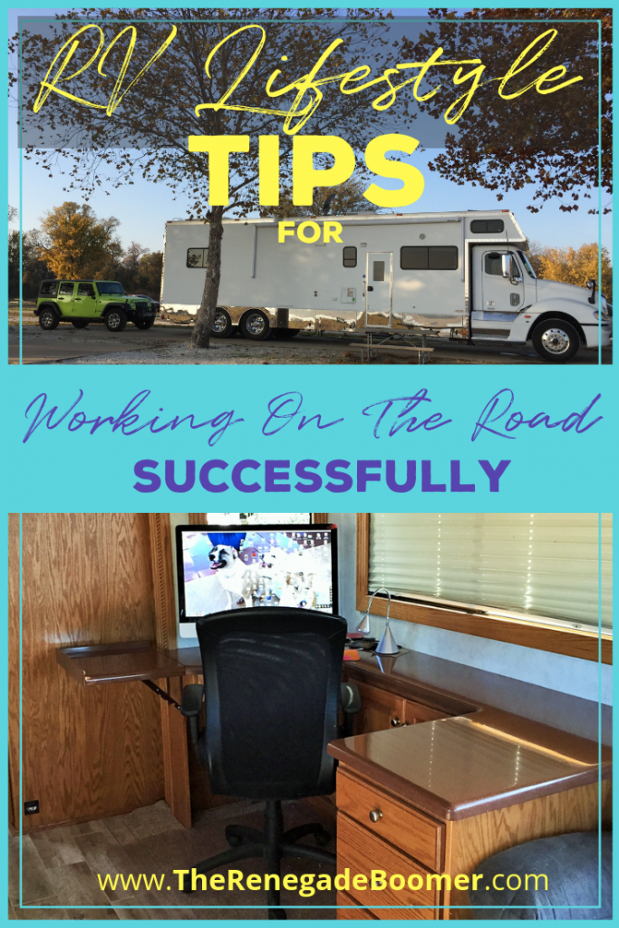 RV Lifestyle Tips for Working On The Road Successfully