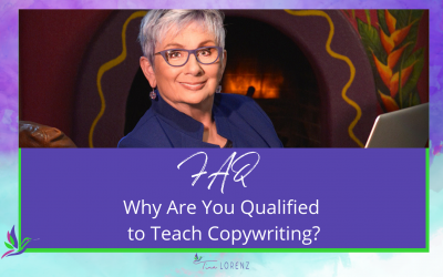 Why are you qualified to teach copywriting?