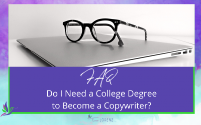 Do I need a college degree to become a copywriter?