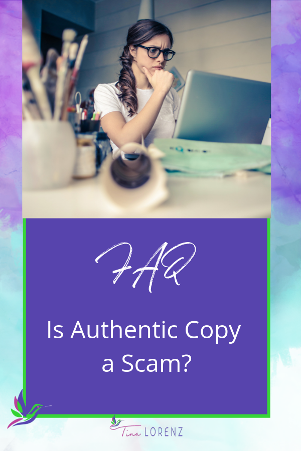 Is Authentic Copy a scam?