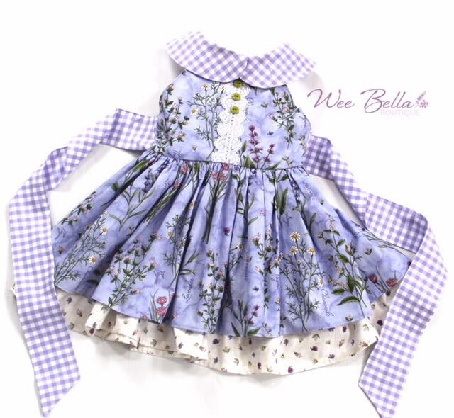 Wee Bella Boutique purple dress